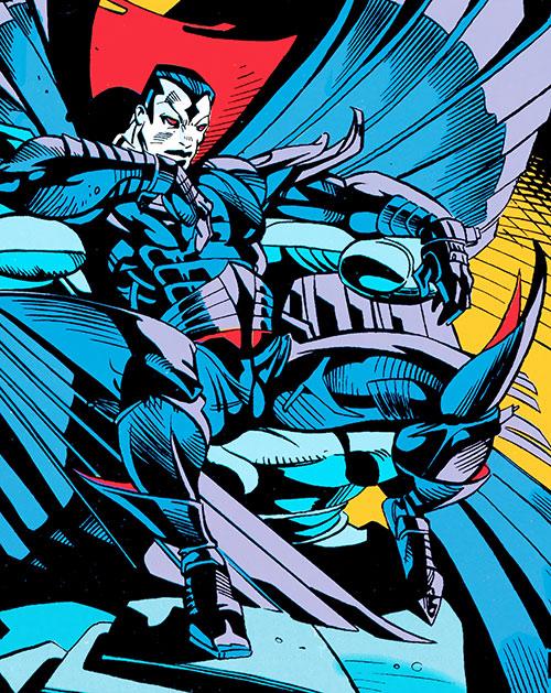 Mister Sinister (X-Men enemy) (Marvel Comics) sitting on a throne