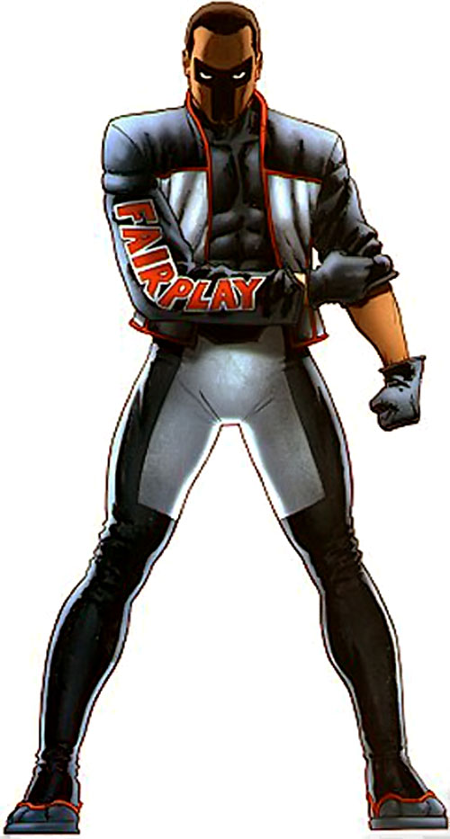Mister Terrific of the JSA (Michael Holt) (DC Comics)