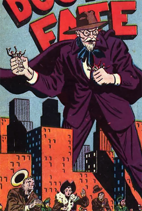 Mister Who - DC Comics - Golden Age character - Dr. Fate - Giant