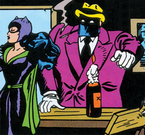 Mister X (DC Comics) (Old Batman/Catwoman enemy)