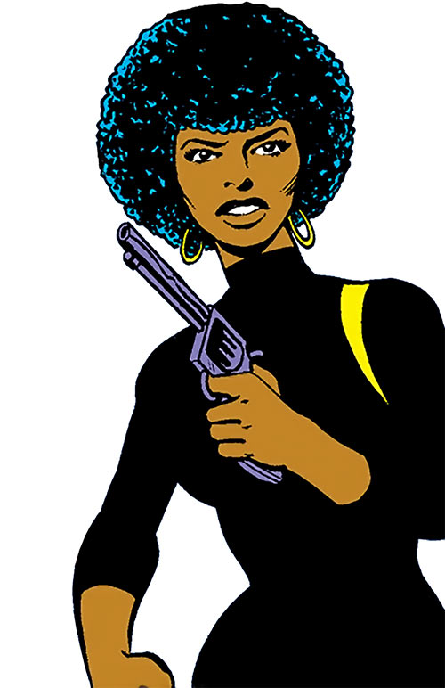 Misty Knight (Marvel Comics) 1970s