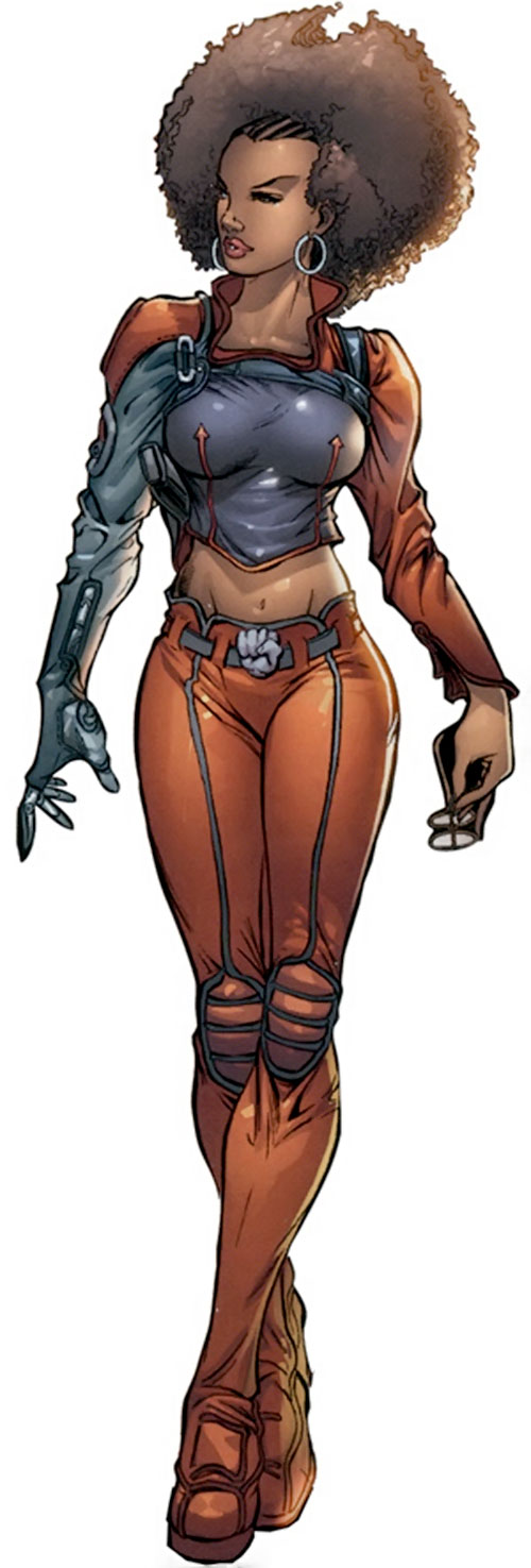 Misty Knight (Marvel Comics) during the 2000s
