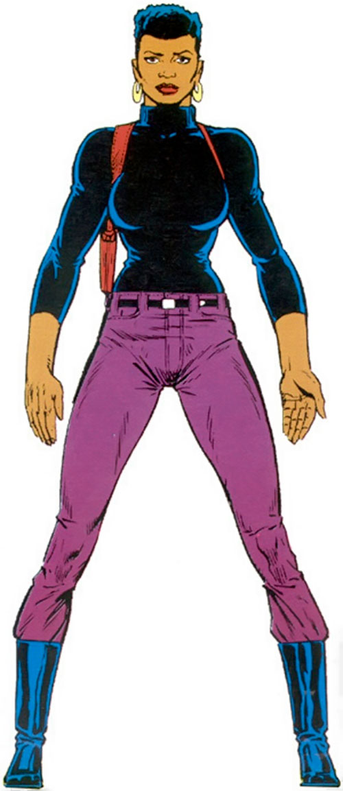 Misty Knight (Marvel Comics) during the 1990s