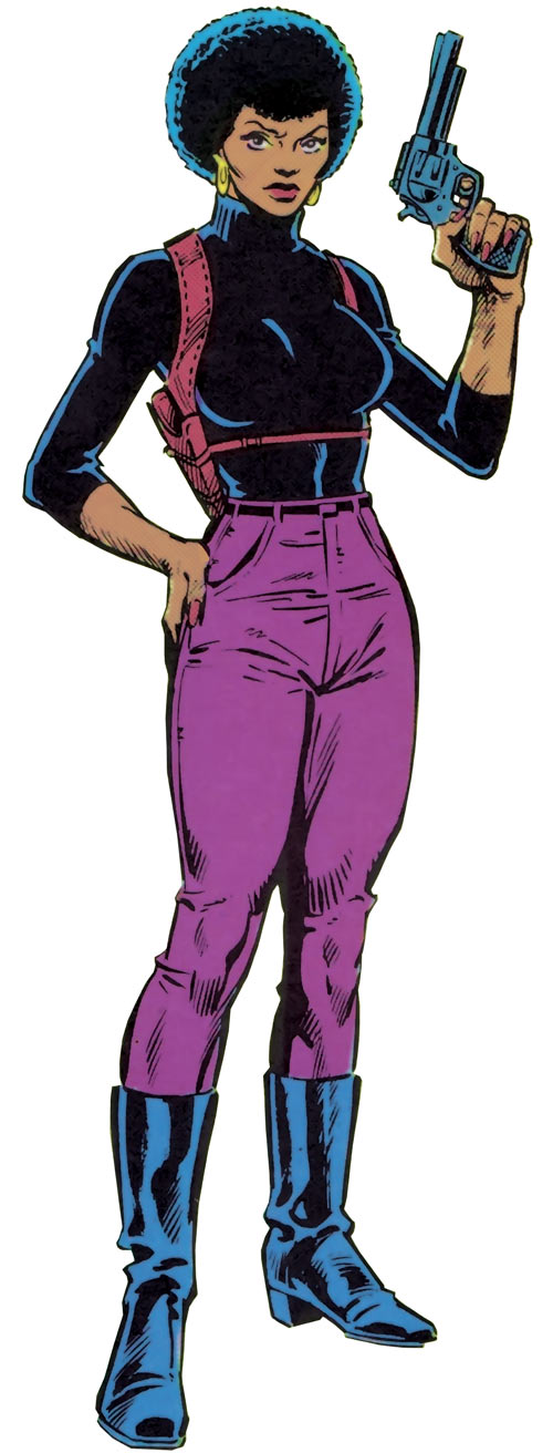 Misty Knight (Marvel Comics) during the 1980s
