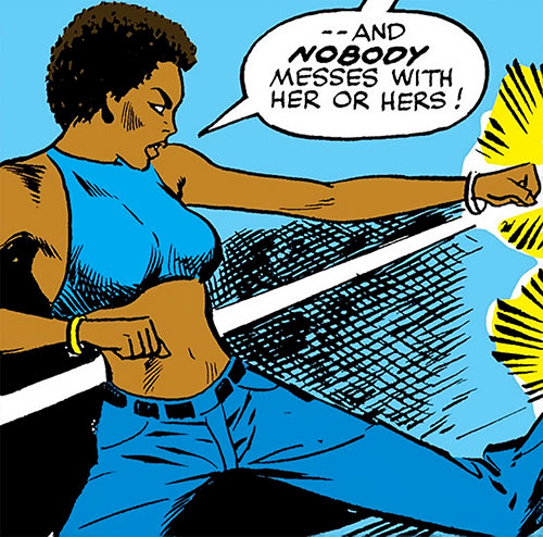 Misty Knight (Marvel Comics) 1970s - earliest appearance