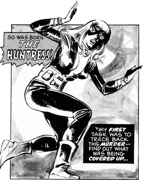 Mockingbird - Marvel Comics - Earliest 2 - Bobbi Morse - Huntress