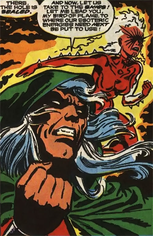 Modred the Mystic (Marvel Comics) (Early) with Phoenix