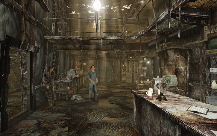 Moira Brown's Megaton shop in Fallout 3