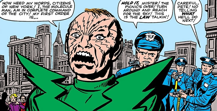 Molecule Man vs. the NYPD