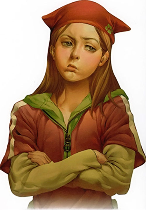 Molly Hayes aka Bruiser of the Runaways (Marvel Comics)