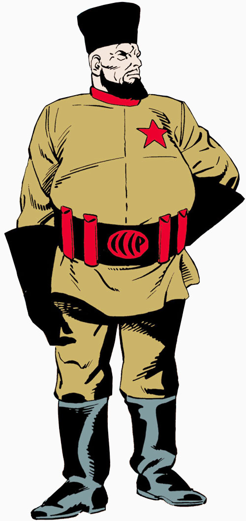 Molotov of the People's Heroes (DC Comics)