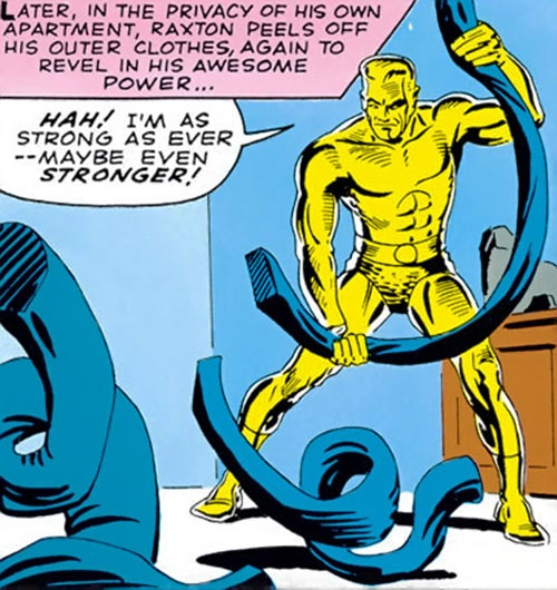 Molten Man (Spider-Man character) discovers his strength
