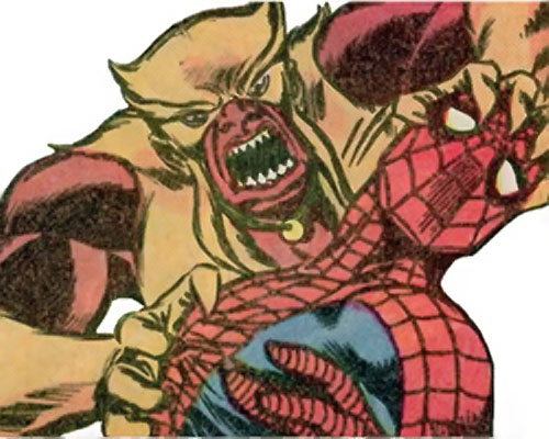 Mongoose (Thor enemy) (Marvel Comics) vs. Spider-Man