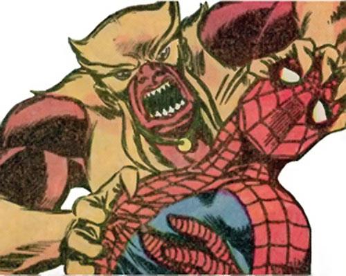 Mongoose (Thor enemy) (Marvel Comics) vs. Spider-Man