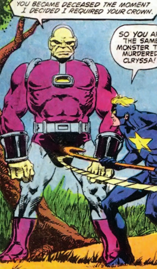 Mongul (Superman enemy) (Pre-Crisis DC Comics) vs. Starman