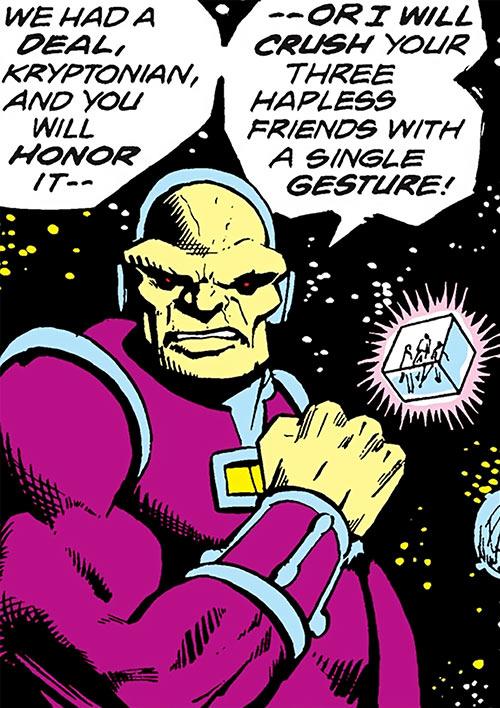 Mongul (Superman enemy) (Pre-Crisis DC Comics) in space