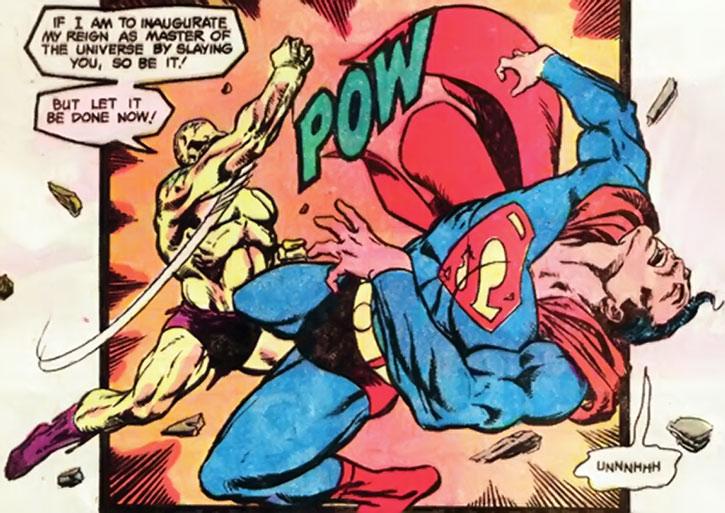 Mongul vs. Superman