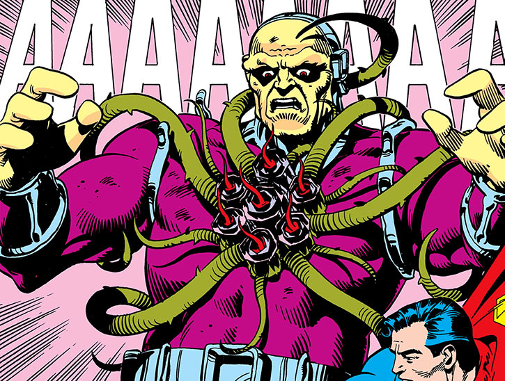 Mongul affected by the Black Mercy (DC Comics)