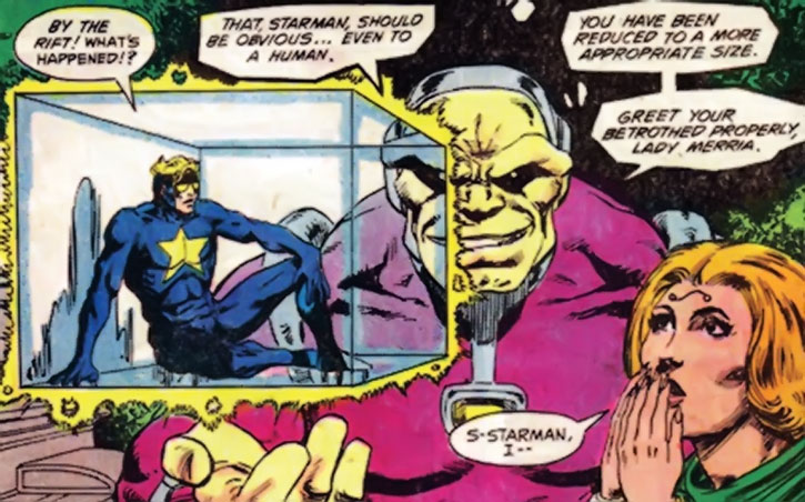 Mongul vs. Starman