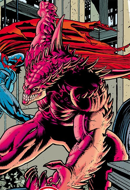 The Monster (Dark Horse Comics) vs. X