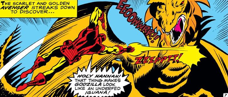 Zoga vs. Iron Man
