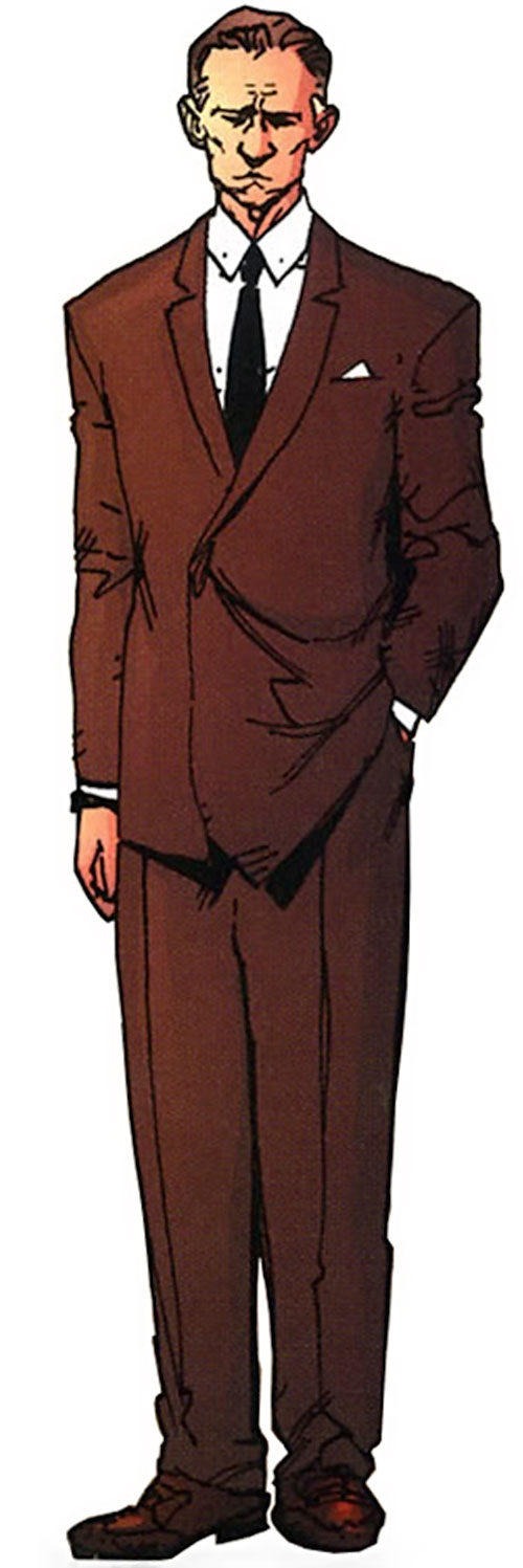 Doctor Shaw aka the Monstrosity of Stormwatch PHD (Wildstorm Comics)
