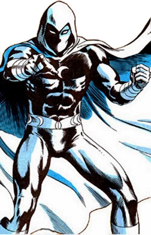 Moon Knight (Marvel Comics) pointing