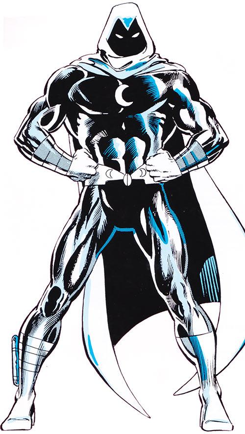 Moon Knight (Marvel Comics) from the older Handbook