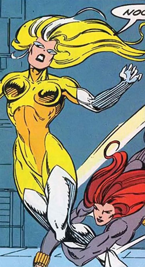 Moonstone (Avengers enemy classic) (Marvel Comics) late variant costume