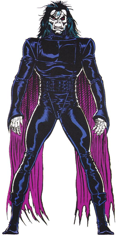 Morbius the Living Vampire (Marvel Comics) (Modern) from the Master Edition handbook
