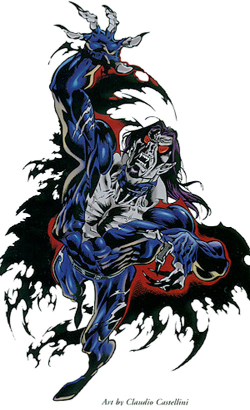 Morbius the Living Vampire (Marvel Comics) (Modern) by Claudio Castellini