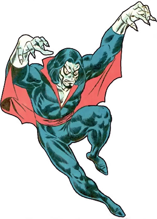 Morbius the Living Vampire (Marvel Comics) (Classic) flying
