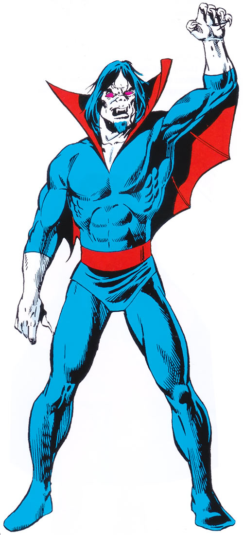 Morbius the Living Vampire (Marvel Comics) (Classic) from the older handbook