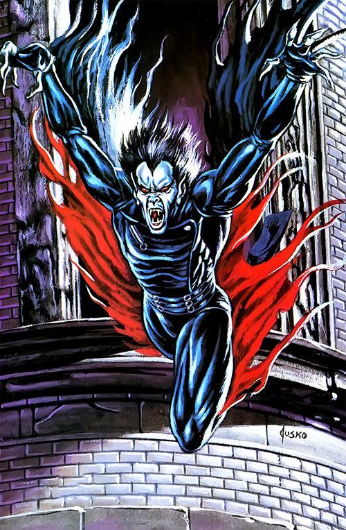 Morbius the Living Vampire (Marvel Comics) Joe Jusko masterpieces painting