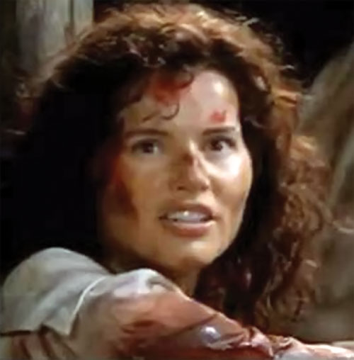 Morgan Adams (Geena Davis in Cutthroat Island)