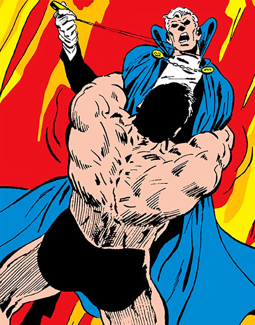 Morgg (Phantom Stranger enemy) (DC Comics) vs. Cassandra Craft
