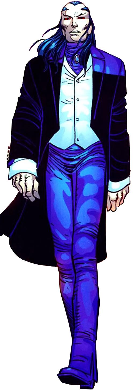 Morlun the devourer of totems (Spider-Man enemy) (Marvel Comics) walking