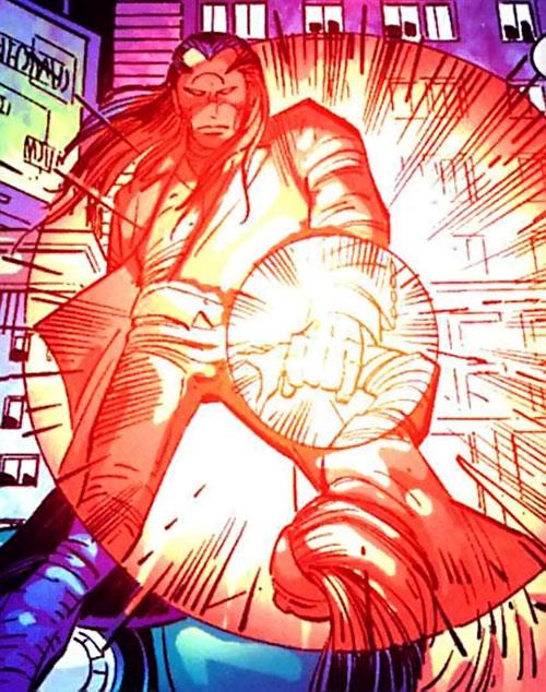 Morlun the devourer of totems (Spider-Man enemy) (Marvel Comics) draining life force