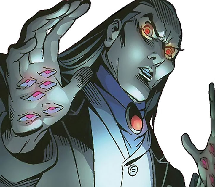 Morlun with eyes in his palms