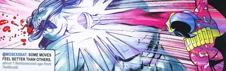 Most Excellent Super Bat kicks a monster