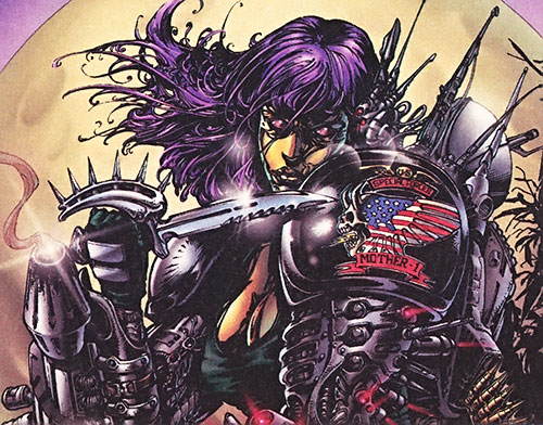 Mother One - Image Comics - Wetworks - Character profile - Writeups org