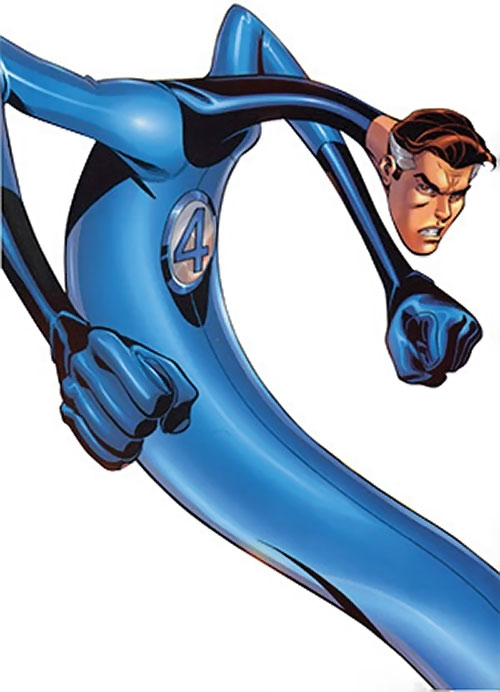 Mister Fantastic (Marvel Comics) extending