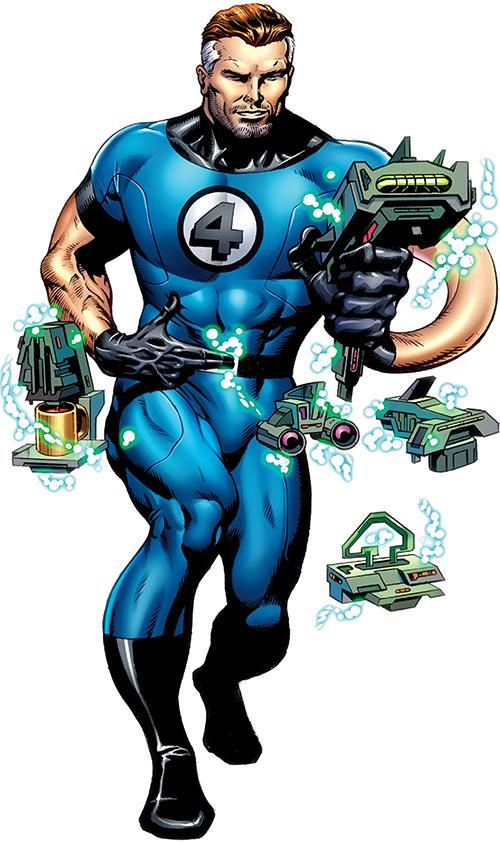 Mr Fantastic Marvel Comics Fantastic 4 Reed Richards