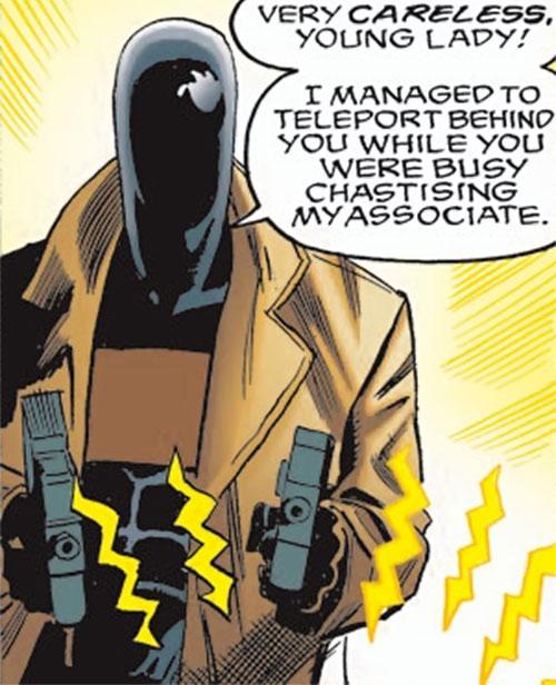 Mister Nobody (Spider-Girl enemy) (Marvel Comics MC2)