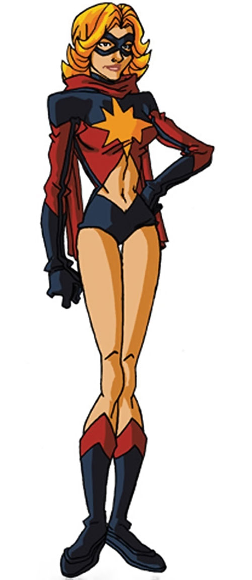 Ms. Marvel (Carol Danvers) during the 1970s, by RonnieThunderbolts 1/2