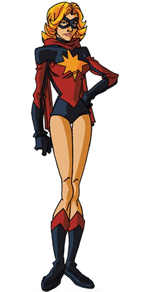 Ms. Marvel (Carol Danvers) during the 1970s, by RonnieThunderbolts 2/2