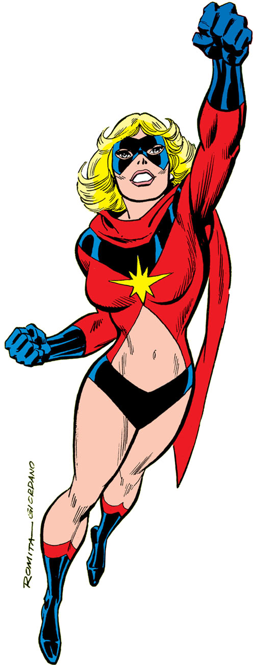 Ms. Marvel (Carol Danvers) during the 1970s