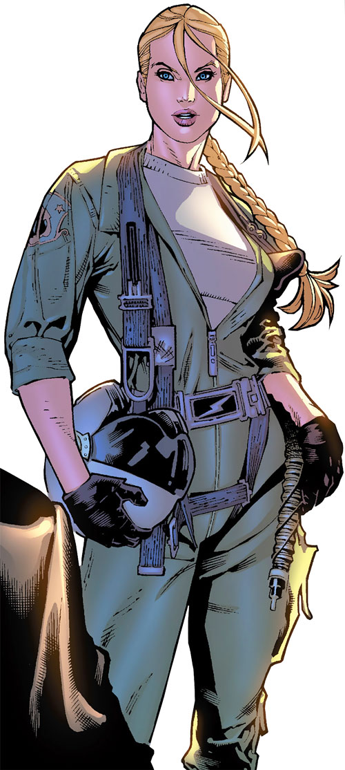 Carol Danvers (Earliest) (Marvel Comics)