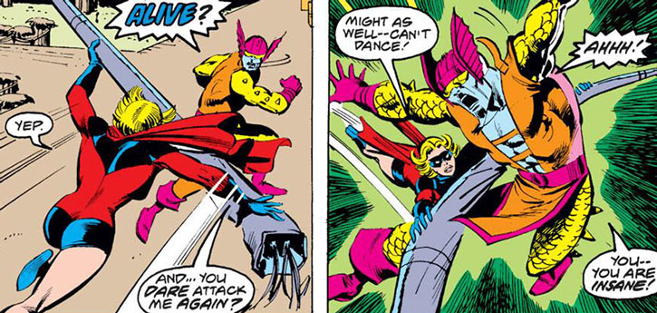 Ms. Marvel (Carol Danvers) vs. Tyrak