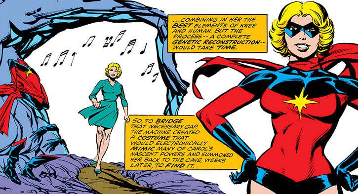 Ms. Marvel (Carol Danvers) recap flashback